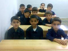 اولین روز کلاس اول دبستان امیرحسین